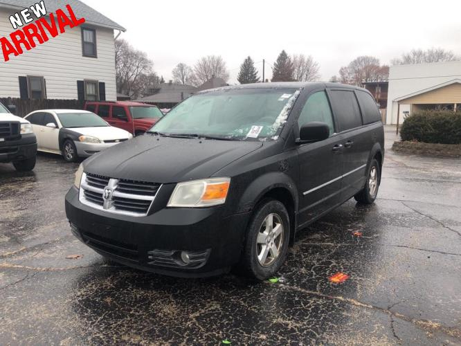 2008 BLACK DODGE GRAND CARAVAN SXT (1D8HN54P88B) with an 3.8L engine, Automatic transmission, located at 1708 Broadway, Rockford, IL, 61104, (815) 397-5010, 42.252522, -89.069359 - Photo #0